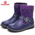 FLAMINGO 2016 new collection autumn fashion kids high boots high quality anti-slip kids shoes for girls W6CH144