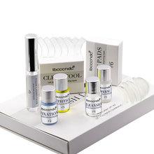 Ibcccndc 7в1 мини-набор для завивки ресниц, набор для завивки ресниц, бигуди, защита, удлинение, с стержнями, клей, y-образная кисть TSLM2