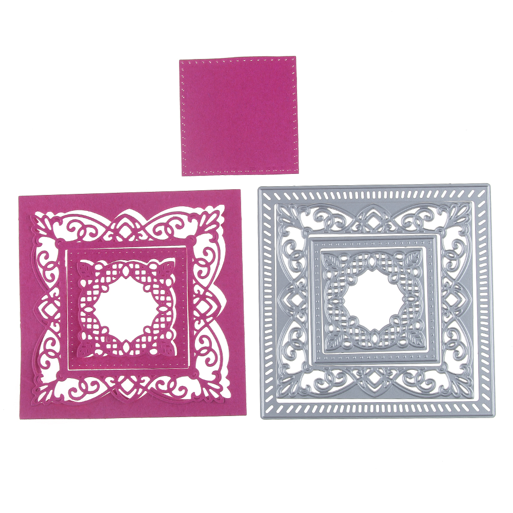 lace Design Metal Cutting Die For DIY Scrapbooking Album Paper Card Gut