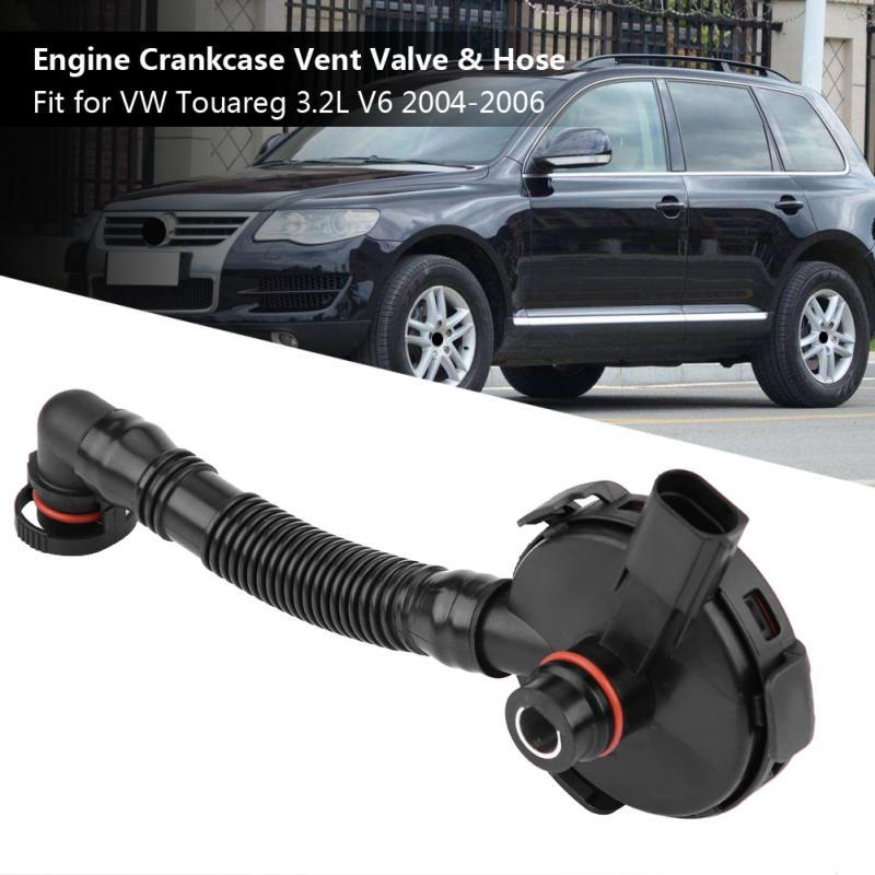 022103765A Động Cơ Xe Ô Tô Nhựa PVC Lồng Vắt Van Thông Khí Vòi Cho VW Touareg 3.2L V6 2004 2005 2006 Tự Động Thay Thế Các Bộ Phận Mới khách Đến