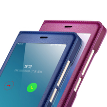 Антидетонационных флип чехол для Xiaomi Redmi Note 4 кожаный чехол окошком чехол для Redmi Note 4X smart сна твердый переплет Hongmi