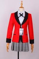 Japanese Anime Kakegurui Cosplay Costume Jabami Yumeko Cosplay Kakegurui Cosplay Costume Sets CM208