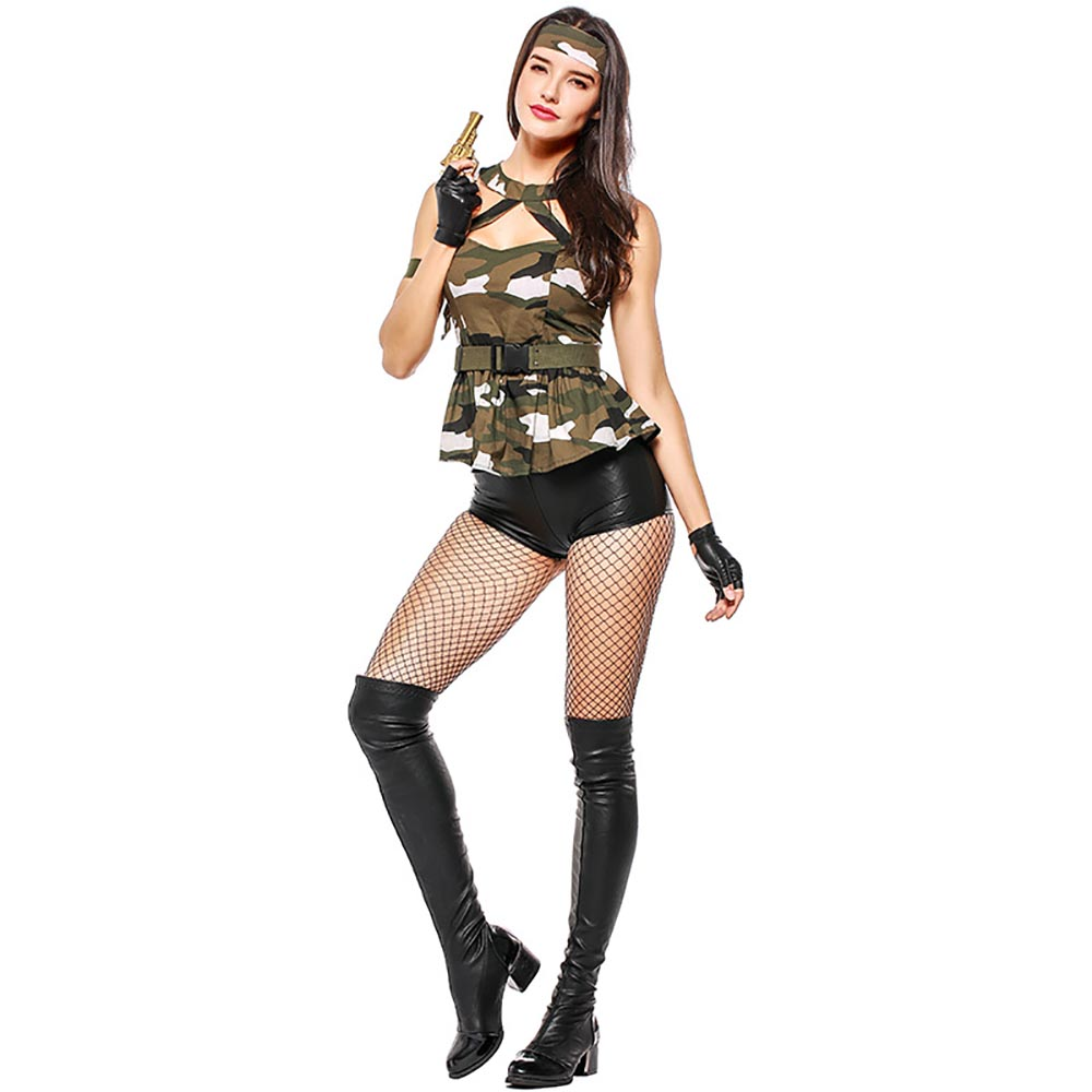 77e923d264e Army Girls Costumes & Sc 1 St Struts Fancy Dress