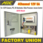 CCTV Power Box 4 Cha...