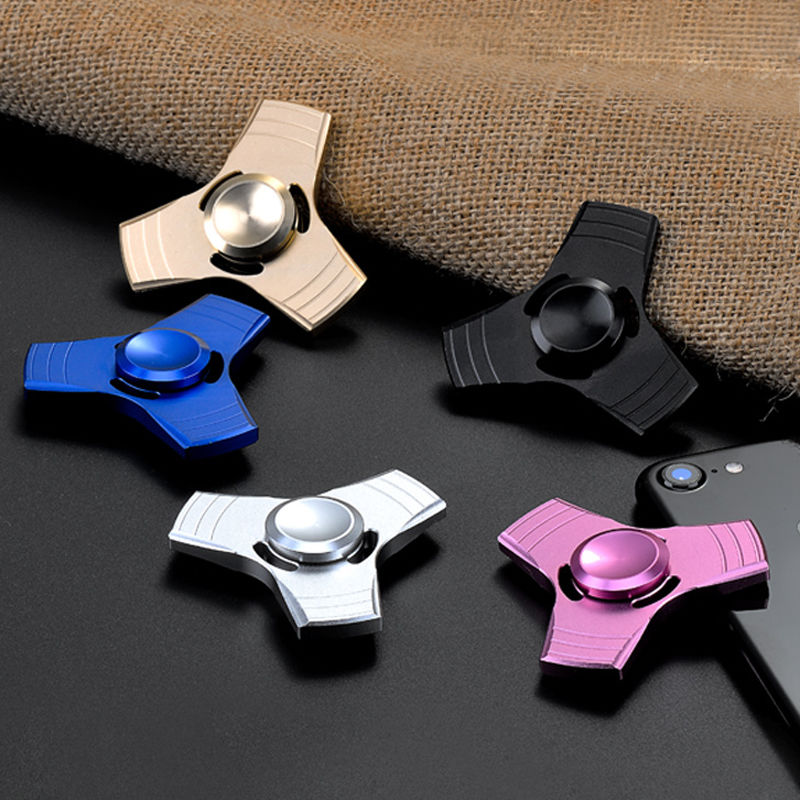 New Hot 3D Fidget Hand Spinner Finger EDC Focus Stress Reliever Toys For Kids Adults Spinning