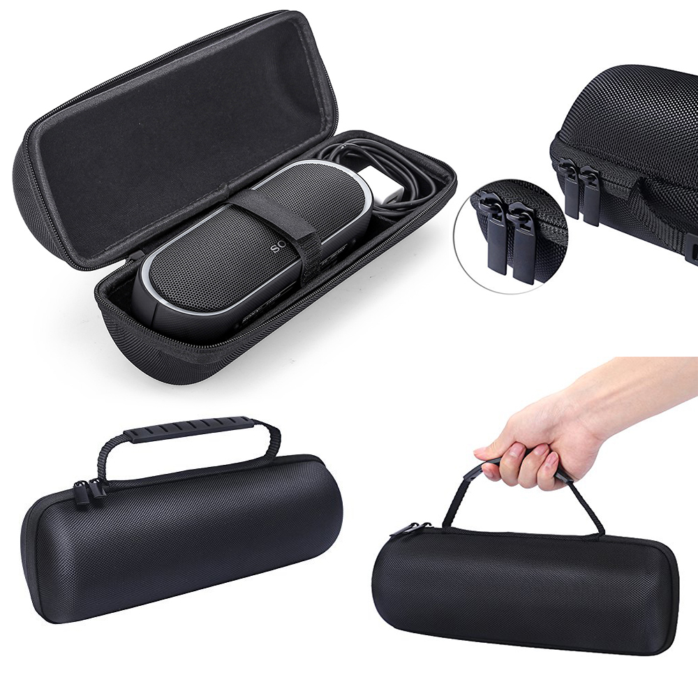 Fashion new 2018 PU Carry Travel Protective Speaker Box Cover Bag Cover Case For Sony SRS XB20 Portable Bluetooth Speaker-Fits travel aluminum blue dji mavic pro storage bag case box suitcase for drone battery remote controller accessories