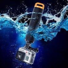 Поплавок поплавок стик для gopro действий камеры плавающей рукоятки hero 5/4/3 sjcam sj4000 xiaomi yi 4 k экен h9 h9r монопод