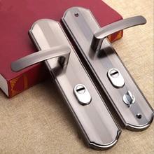 1 Set Practical door handle lock Anti-theft security Dual Latch for Bedroom Bathroom  Furniture Gate Lock Accessories