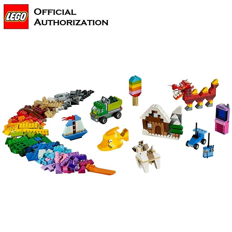 900 Pcs Building Blocks Lego Classic Series Box Kids Play Toy ...