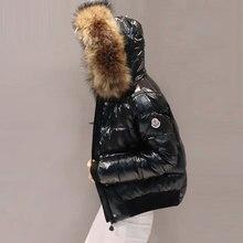 2018 chaqueta de invierno de las mujeres brillante nuevo abrigo de algodón  de las mujeres es 12fc8c5bfe30
