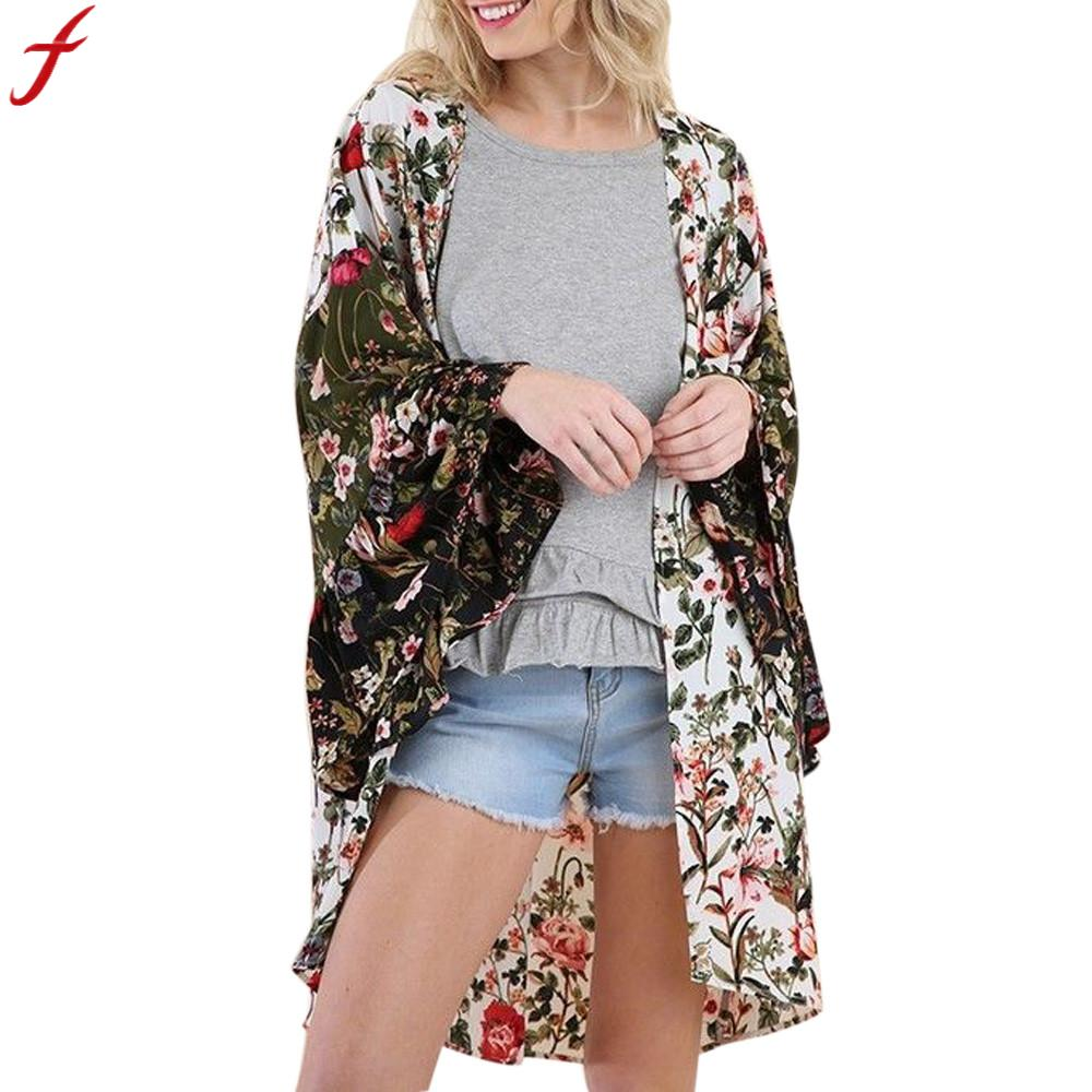 Kleidung & Accessoires Bohemian Scarf Women's Stylish In Vogue Floral Shawl
