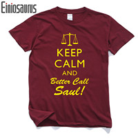 Better Call Saúl Hombres T-shirt de Algodón Casual Camisetas Para Los Hombres Masculinos Jimmy Saul Goodman Breaking Bad Camiseta de Los Hombres Tops