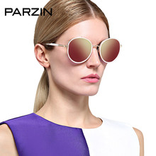Parzin Polarized Sunglasses Women Tr 90 Vintage Sun glasses Female Designer Ladies Shades Colorful Driving Glasses Black 9835
