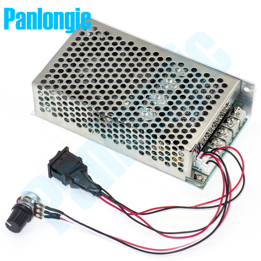 10 50v 100a 5000w Reversible Dc Motor Speed Controller Pwm