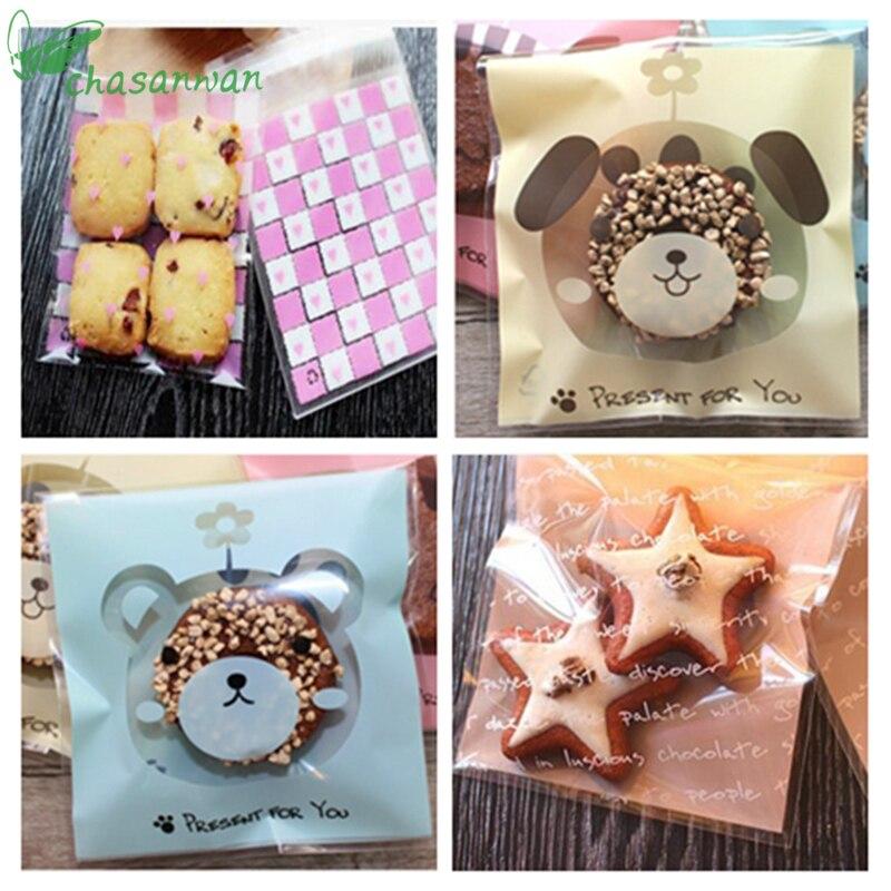 mariage 20 pcs // 40 pcs cellophane pour cookie anniversaire bonbon emballage