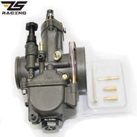 ZS Racing A class Quality Motorcycle PWK Keihin 28 30 32 34mm Carburetor keihin Carburador Racing Parts With Power Jet