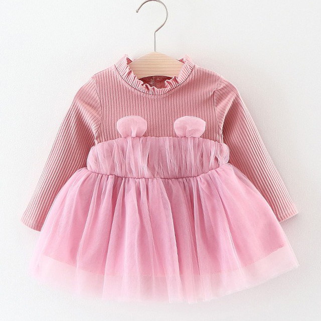 f92843f32 Baby Dresses New Spring And Autumn Wear Lovely Sweet Style Baby ...