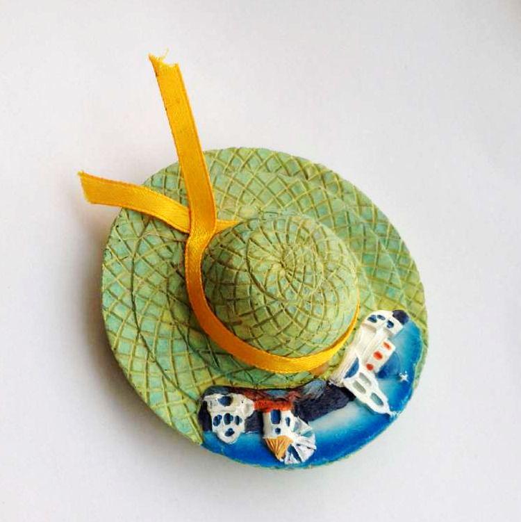 Rodos Landşaft Şapka 3D Soyuducu Magnets Yunanıstan Turizm - Ev dekoru - Fotoqrafiya 3