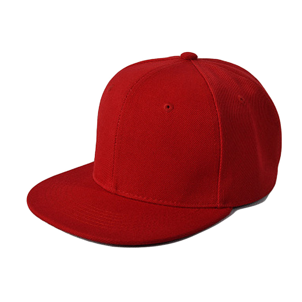 5c797a661425c Brand Mens Womens Snapback Caps sport fitted hat Red Color Hip Hop Snap  Back Baseball Cap Adult Cool Simple Flat Sun Hats-in Baseball Caps from  Apparel ...