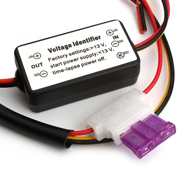 Car LED DRL Relay Daytime Running Light Relay Harness Auto Car Controller On/Off Switch Parking Light Fog Light