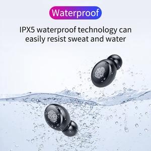 Image 5 - TWS 真のワイヤレスイヤホン 5.0 Bluetooth ヘッドフォン 8D ステレオ防水タッチイヤ led 4000 2600mah のパワーバンク