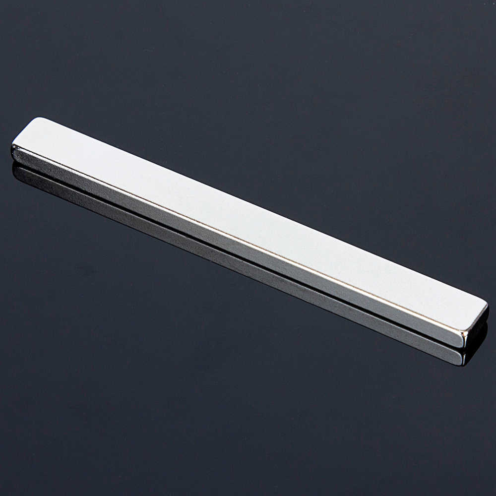1 шт. 100x10x5 мм супер сильный магнит кубический Блок Неодимовый магнит редкоземельный N52 100*10*5 мм