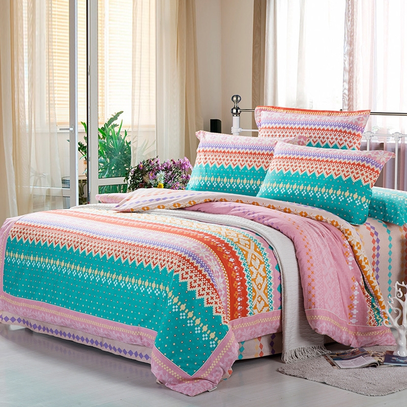 pink chevron bedroom turquoise green orange and pink personalized chevron 12861