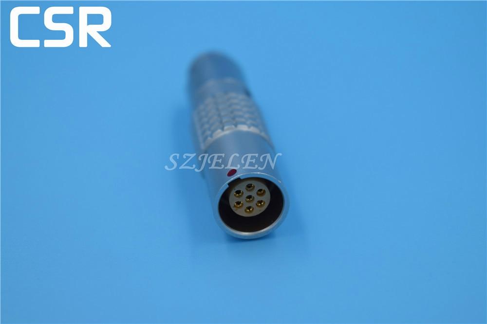 LEMO 1B connectors 7 pin plug,  7 pin female connectors plug, PHG.1B.307,CLAD, Aviation connector [vk] dh32b 37s idc plug 37pos connectors