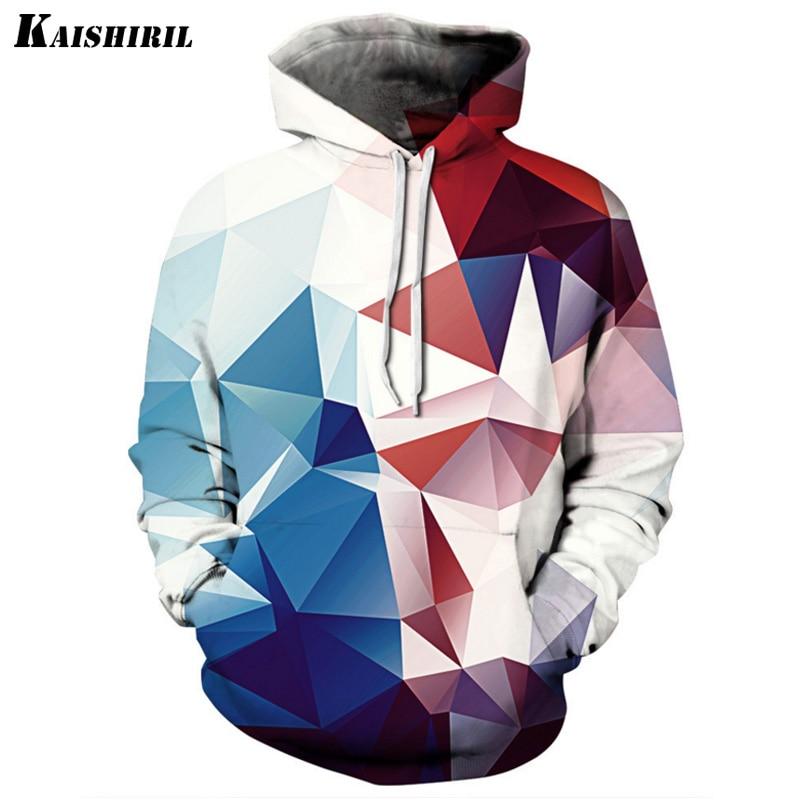 Men's Sweatshirt Male Long-Sleeved Pullovers Hoodies Men Harajuku 3D Hoodie Geometric Streetwear Women Hoodies Sweatshirts
