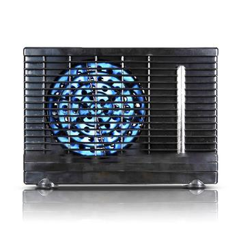12V Portable Car Fan Air Cooler Fluoride-Free High-low Speed Adjustable Multiple-use Cooling Fan Mini Air Conditioner For Car