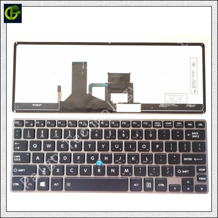 Rétro-éclairé Anglais clavier pour Toshiba Portege Satellite Z30-A Z30t-A Z30T-A1310 Z30-A1302 P000586340 portable US standard