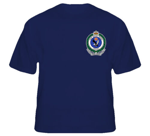2019 Cool Nsw australie Police Badge Logo australien nouvelle galles du sud marine t-shirt unisexe t-shirt