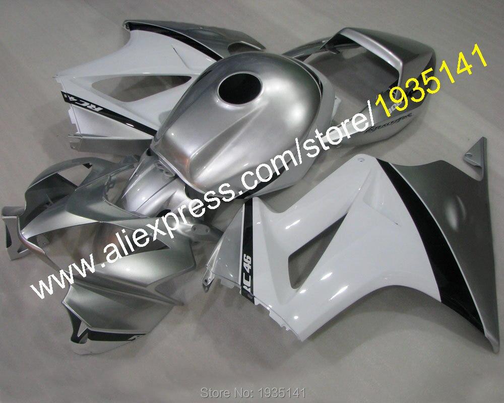 Горячие продаж,Новый 46 комплект для Honda 2002-2012 VFR800 ПВП 800 02-12 спортивный мотоцикл кузова Мото обтекатель комплект (литье под давлением)