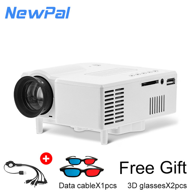 1920x1080P Mini LED&LCD Projector  for Children's Audio books,Video game projector support PS2, PS3 and XBOX with remote control