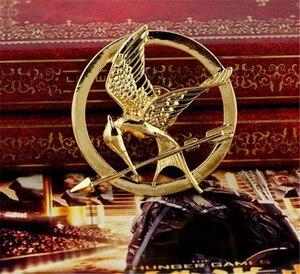 Image 5 - Hunger Games Brooch Pin Bird Eagle Arrow Logo Badge Vintage Fashion Hot Animal Game Movie Jewelry For Men Women Kids Wholesale