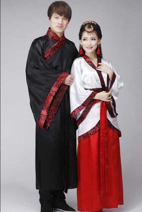 e326d6987 Aliexpress.com : Buy Women Man Hanfu Cloak Suit Chinese Traditional Folk  Dress Ancient Male Hanfu Costume Traditional Chinese Clothing For Men from  Reliable ...