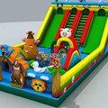 Надувной детский батут для прыжков  детский надувной парк развлечений