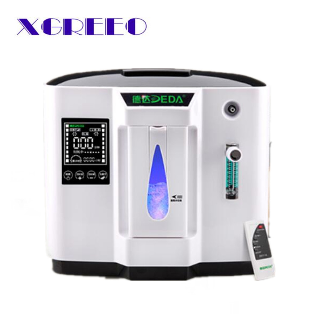 XGREEO 6L home use medical portable oxygen concentrator generator oxygen making machine Oxygenation machine 110v/220v medical oxygen concentrator for respiratory diseases 110v 220v oxygen generator copd oxygen supplying machine