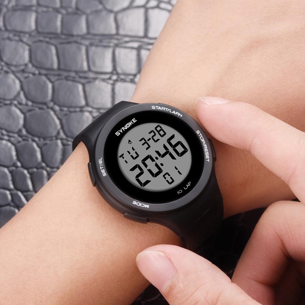 PANARS Fashion Digital Luxury Couple Women Sport Watch Waterproof Wrist Electronic Led Men Waterproof Men's Fitness Watches