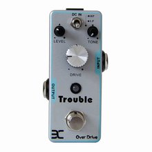 Eno Drive Trouble TC-16 Trouble In Mind Overdrive Guitar Effects Pedal Replicate the classic tone of OCD