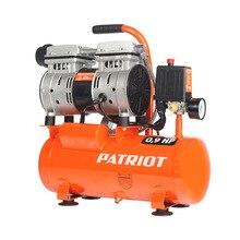 Компрессор электрический PATRIOT WO 10-120 (Мощность 650 Вт, емкость ресивера 10 л, производительность 120 л/мин, макс.давление 8 бар)