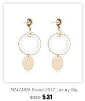Маланда новинка 2017 роскошный белый циркон кольца для для женщин обручение женский ГБО свадьбы кольца украшения матери подарок аксессуары