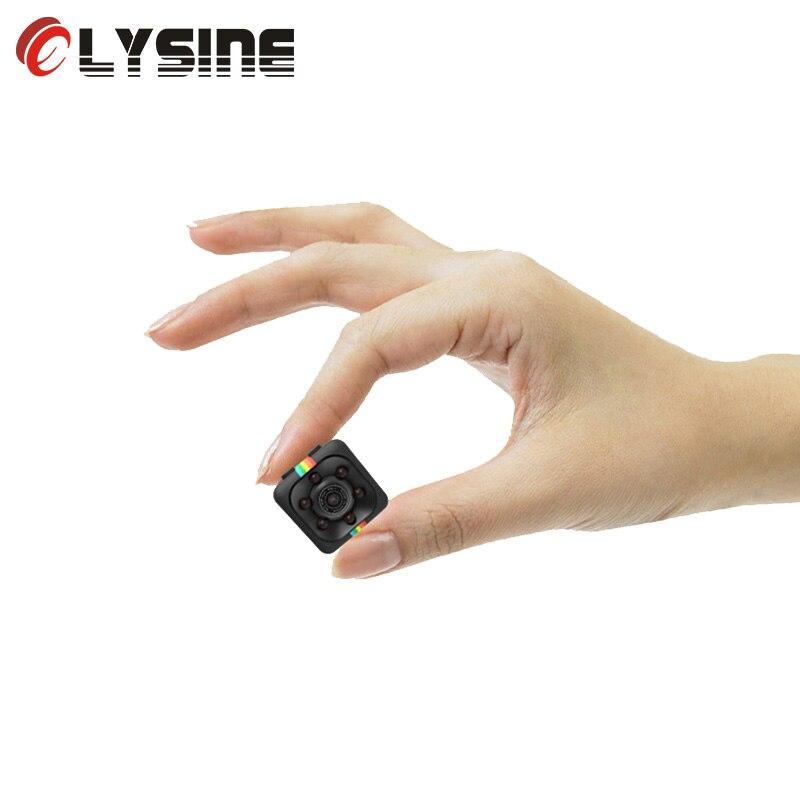 Olysine Mini coche DVR IR visión nocturna coche Cámara Full HD 1080P videocámara Home registrador Video grabadora Dash Cam DVRS