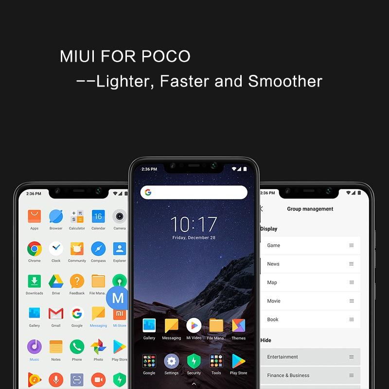"Global Version Xiaomi Pocophone F1 6gb 64gb Smartphone Snapdragon 845 Octa Core 6.18"" 2246 X 1080 Fhd Liquidcool Ai Dual Camera #6"