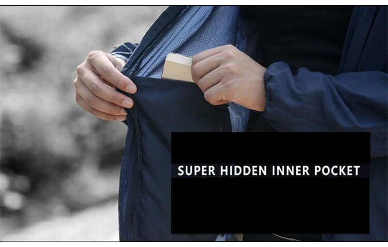 Topdudes.com - Solid Hooded Tactical Thin Windbreaker Tracksuit