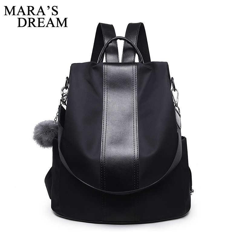 8eb9c7fc085 Mara's Dream новая сумка водостойкий Оксфорд женский рюкзак на молнии школьные  сумки для подростков девочек маленький