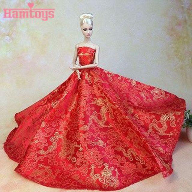 Платья для кукол с алиэкспресс