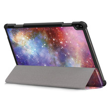 For Lenovo Tab P10 TB-X705F TB-X705L 10.1inch 2019 Tablet Case Capa Coque Slim Magnetic Folding Cover Case Starry Sky Holster(China)