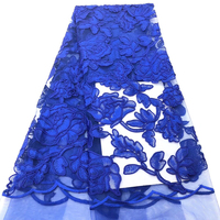 High quality 3D French Lace Fabric With Sequins African Lace With Stones Alibaba Express Trimmings For Wedding Dresses