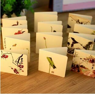 Mail & Shipping Supplies Holiday Wedding Cards With Paper Envelope Humble Free Ship!1lot=56pc!creative Birthday Retro Chinese Style Wishes Greeting Card